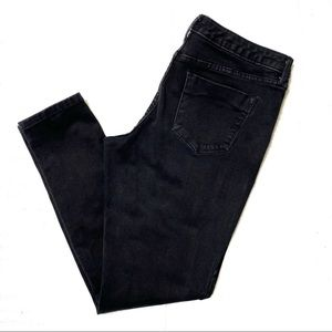 Mossimo Black mid rise denim legging jeans